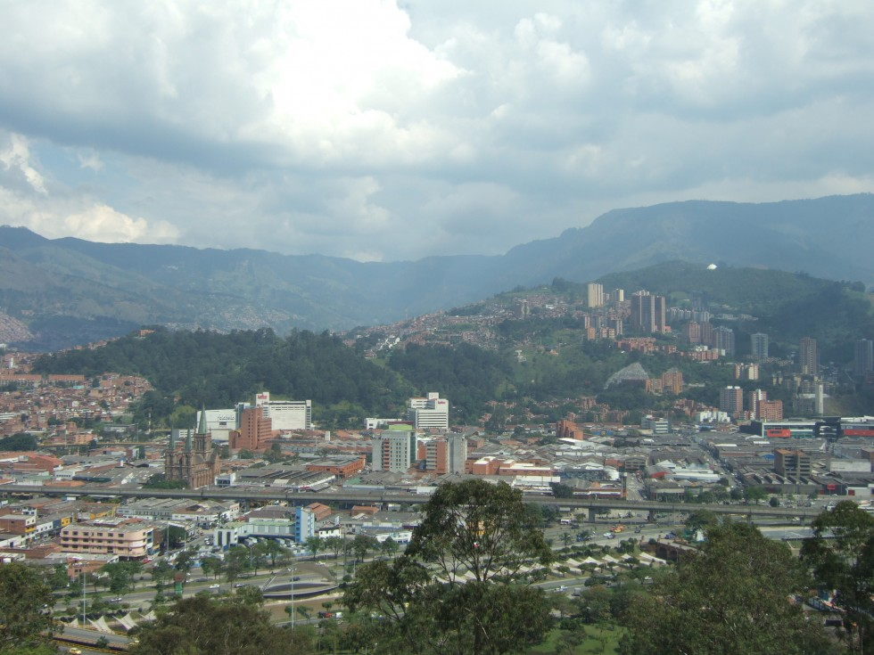 Medellin city view