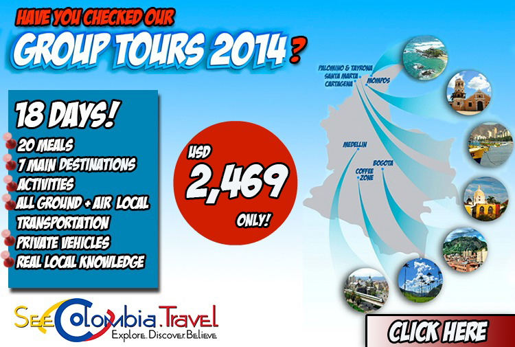 Colombia Group Tours
